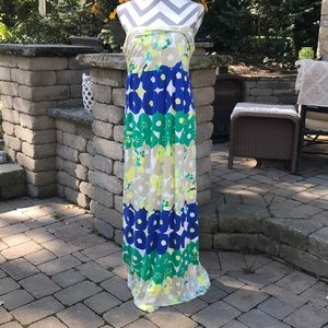 New Strapless maxi dress